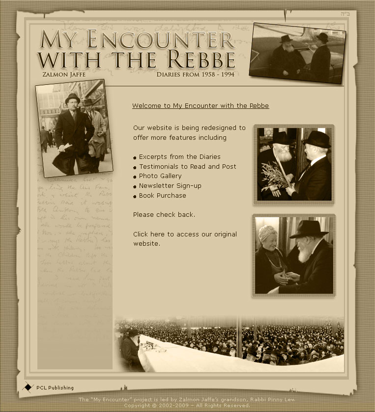 My Encounter with the Rebbe